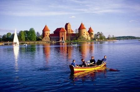 Troki zamek Grzegorz Micuła